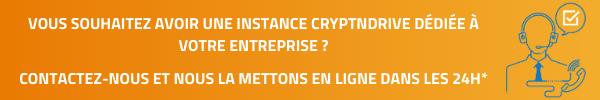 Installation d'une instance entreprise Crypndrive gratuitement